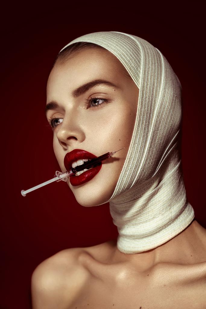 Creative fashion portrait